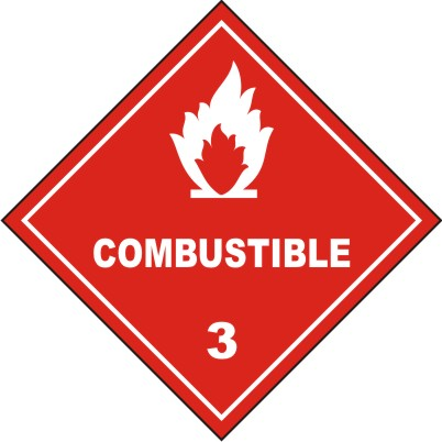 CLASS 3 : COMBUSTIBLE 3