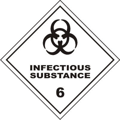CLASS 6 : INFECTIOUS SUBSTANCE 6