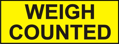 WEIGH COUNTED