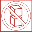 SYMBOL - DO NOT STACK ON