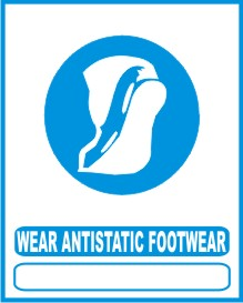 WEAR ANTISTATIC FOOTWEAR