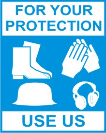 FOR YOUR PROTECTION, USE US