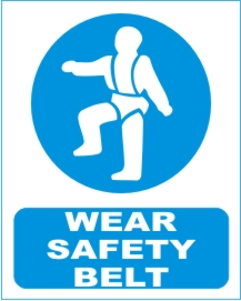 WEAR SAFETY BELT