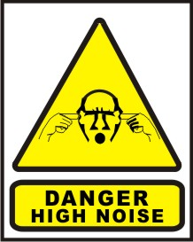 DANGER HIGH NOISE