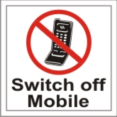 SWITCH OFF MOBILE