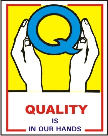 QUALITY IS IN OUR HAND