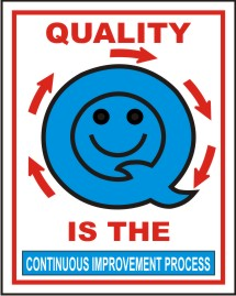 QUALITY IS THE CONTINUOUS IMPROVEMENT PROCESS.