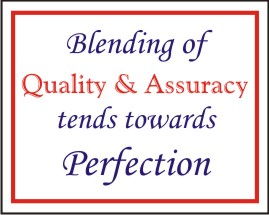 BLENDING OF QUALITY & ACCURACY TENDS TOWARDS....