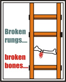 BROKEN RUNGS, BROKEN BONES