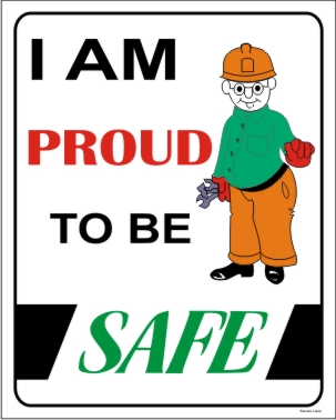 I AM PROUD TO BE SAFE