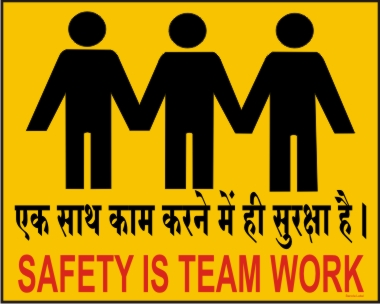 SAFETY IS A TEAM WORK
