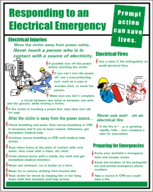 RESPONDING TO AN ELECTRICAL EMERGENCY