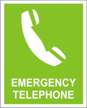 EMERGRNCY TELEPHONE
