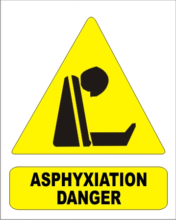 ASPHYXIATION DANGER
